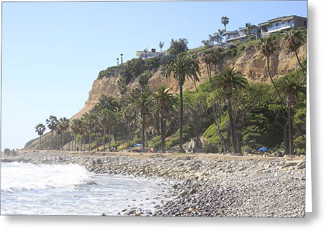 Palos Verdes Cove Greeting Cards - West Coast Living Greeting Card by Richard Neal