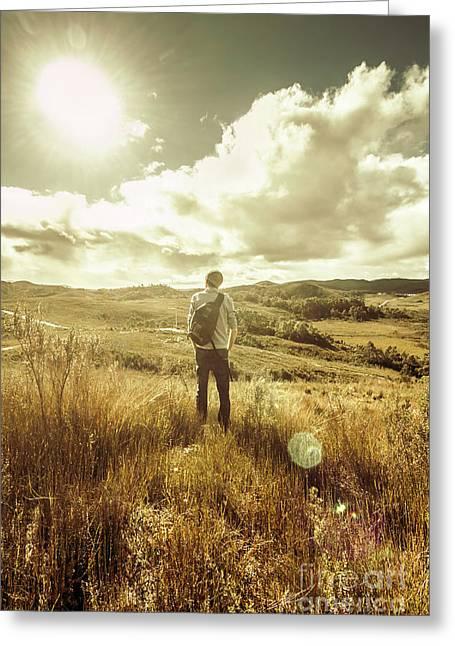 West Coast Tasmania Explorer Greeting Card by Jorgo Photography - Wall Art Gallery