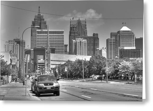 Renaissance Center Greeting Cards - West Fort Greeting Card by Chris Coleman