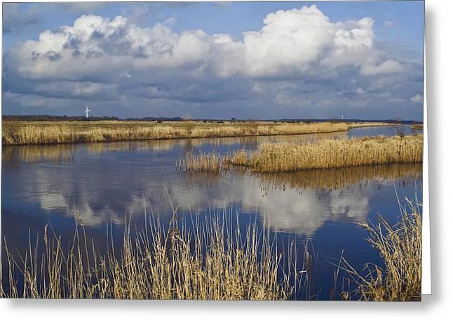 Jutland Greeting Cards - West Jutland - the flat country Greeting Card by Wedigo Ferchland
