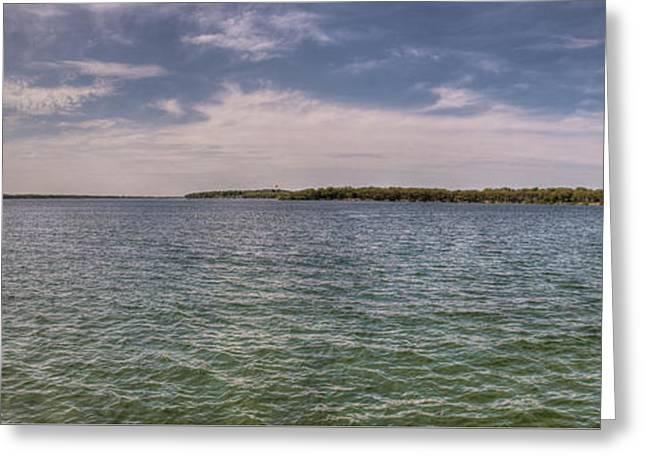 Okoboji Greeting Cards - West Okoboji Lake  Greeting Card by Shane Mossman