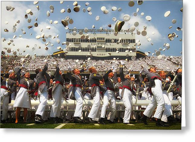 West Point Graduation Greeting Card by Mountain Dreams