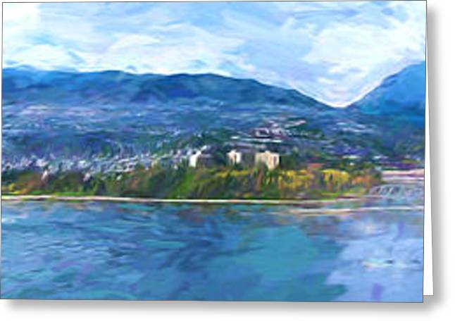 West Vancouver Greeting Cards - West Vancouver Greeting Card by Jim  Hatch