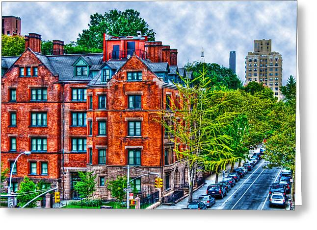 High Line Greeting Cards - West Village by the High Line Greeting Card by Randy Aveille