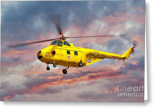 Anti Greeting Cards - Westland Whirlwind Greeting Card by Steve H Clark Photography
