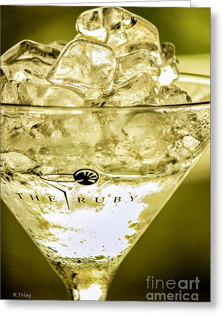 Absolut Greeting Cards - Wet and Wild Greeting Card by Rene Triay Photography