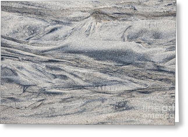 Wet Sand Abstract I Greeting Card by Elena Elisseeva