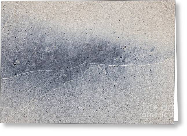 Wet Sand Abstract V Greeting Card by Elena Elisseeva