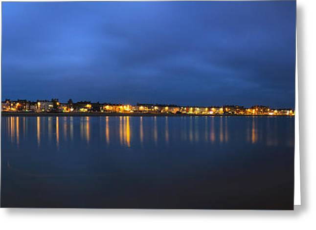 Weymouth Panarama Greeting Card by David French