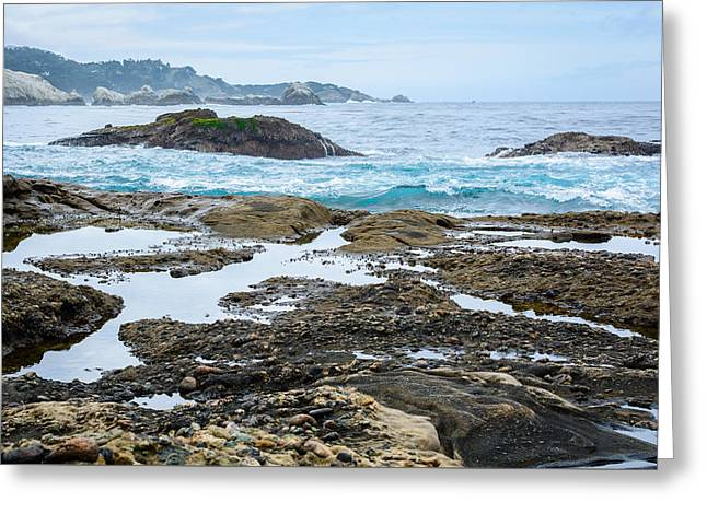 Point Lobos Reserve Greeting Cards - Whalers Cove Point Lobos Greeting Card by Cristi Canepa