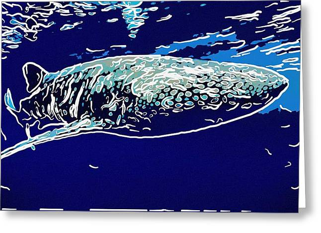 Whaleshark  Greeting Card by Lanjee Chee