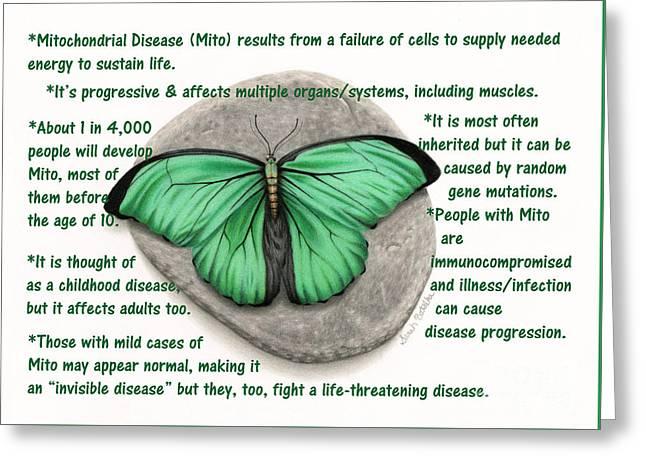What Is Mito? Greeting Card by Sarah Batalka