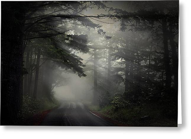 Marin County Greeting Cards - What is Out There? Greeting Card by PhotoWorks By Don Hoekwater