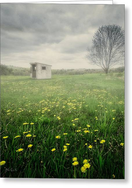 Maine Farms Greeting Cards - What The Sign Says Greeting Card by Bob Orsillo
