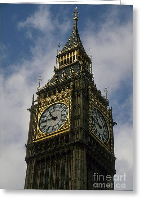 National Treasure Greeting Cards - What Time is It Greeting Card by Robert  Torkomian