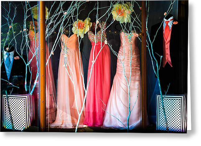 Evening Wear Photographs Greeting Cards - When Love Feels New Greeting Card by Karen Wiles