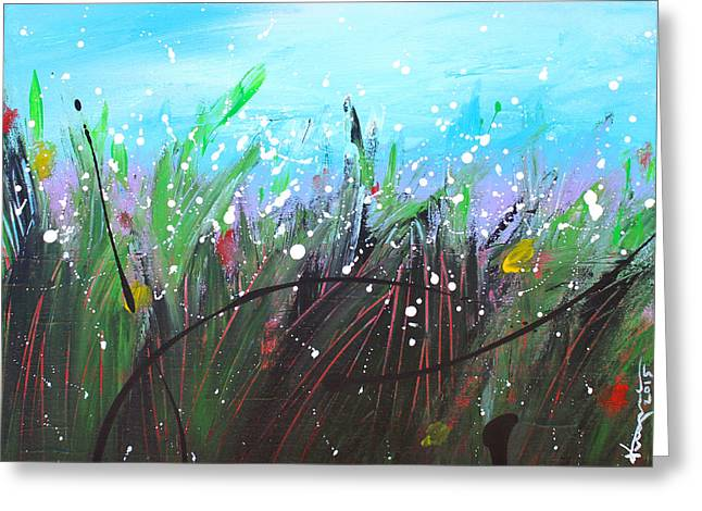 Raining Greeting Cards - When the Rain is Gone #4 Greeting Card by Kume Bryant