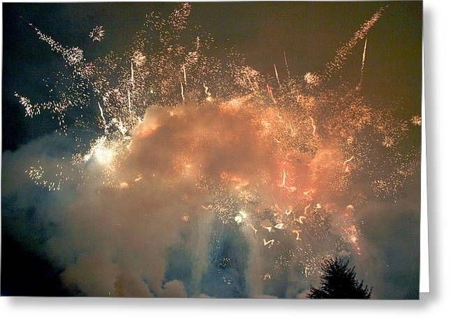 4th July Greeting Cards - When the Smoke Clears Greeting Card by Jim DeLillo