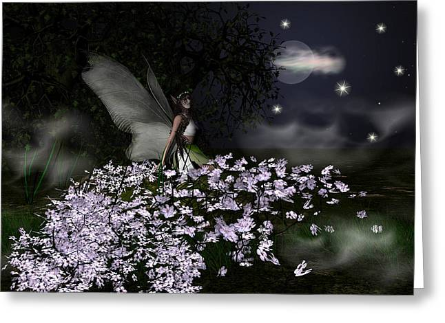 Eva Thomas Greeting Cards - When you wish upon a star Greeting Card by Eva Thomas