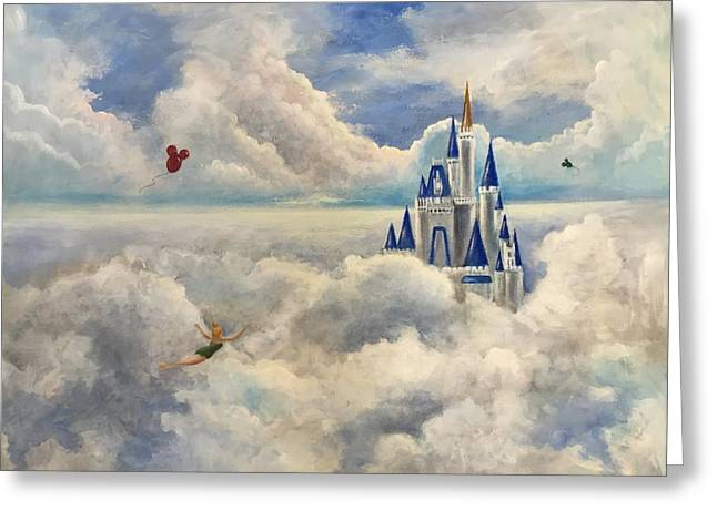 Randy Burns Greeting Cards - Where Dreams Come True Greeting Card by Randy Burns