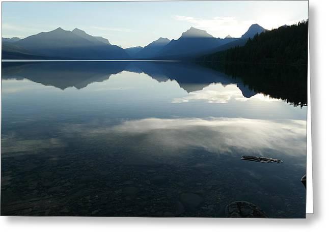 Lake Mcdonald Greeting Cards - Where dreams take me Greeting Card by Jeff  Swan
