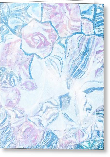 Cover The Face Greeting Cards - Where Is She With Cover Greeting Card by Catherine Lott
