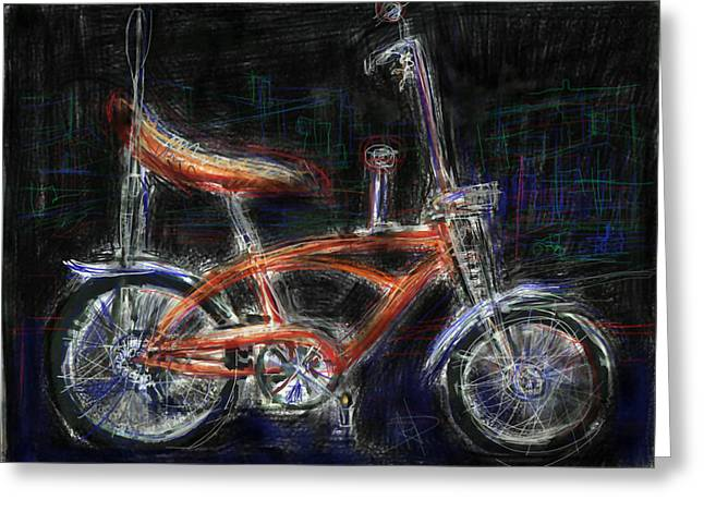 Wheelie Greeting Cards - Where the rubber meets the road Greeting Card by Russell Pierce