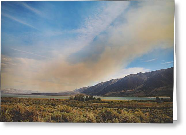 Disasters Greeting Cards - Where Theres Smoke Greeting Card by Laurie Search
