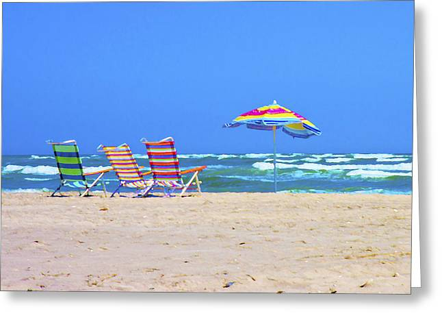 Where We Want To Be Greeting Card by Betsy C Knapp