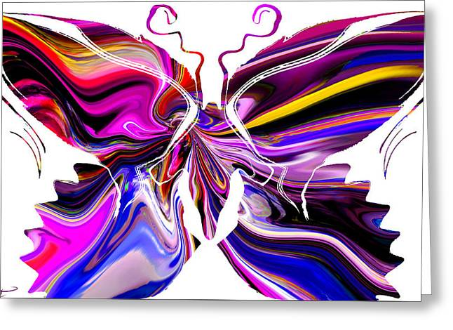 Focal Color Art Greeting Cards - Whimsical Storybook Butterfly Greeting Card by Stephen  Killeen
