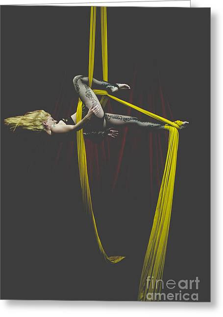 Arial Greeting Cards - Whipped Silks Greeting Card by Scott Sawyer