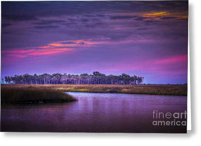 Gulf Of Mexico Scenes Greeting Cards - Whispering Wind Greeting Card by Marvin Spates
