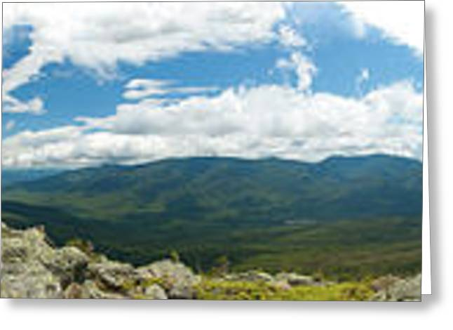 360 Greeting Cards - White Mountains Pano Greeting Card by Sebastian Musial