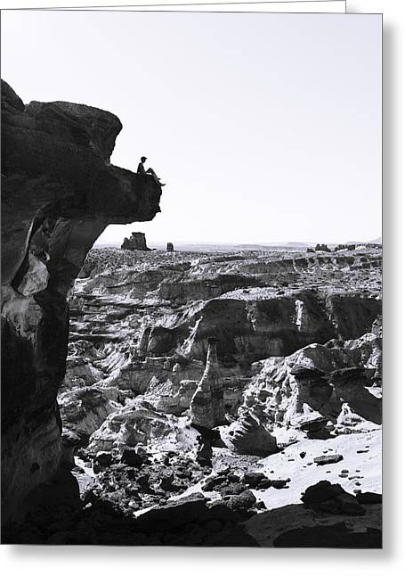 White Rocks Greeting Card by Chad Dutson