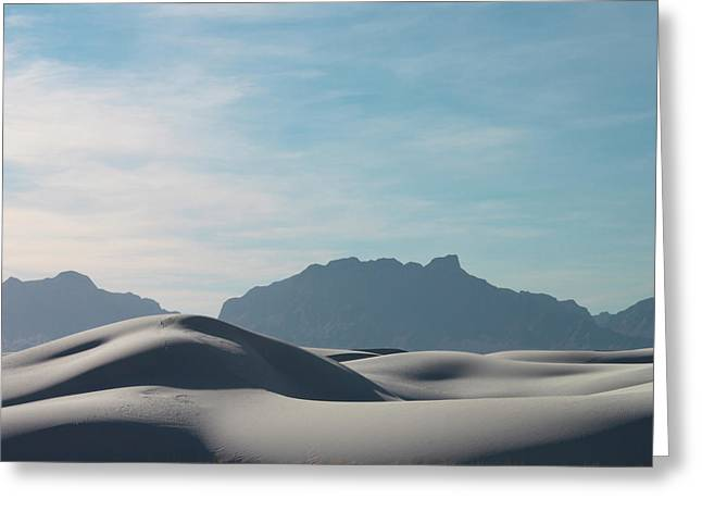 White Sands Natural Anatomy  Greeting Card by Jack Pumphrey