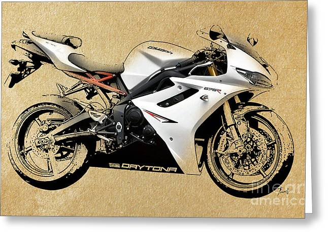 White Drawings Greeting Cards - White Triumph Greeting Card by Pablo Franchi