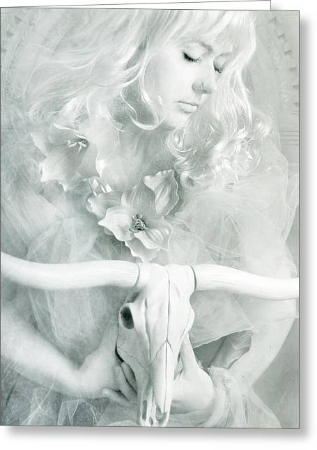 White Witch II Greeting Card by Cambion Art