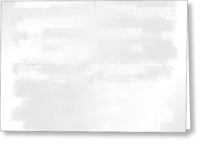 Pare Digital Art Greeting Cards - White.43 Greeting Card by Gareth Lewis