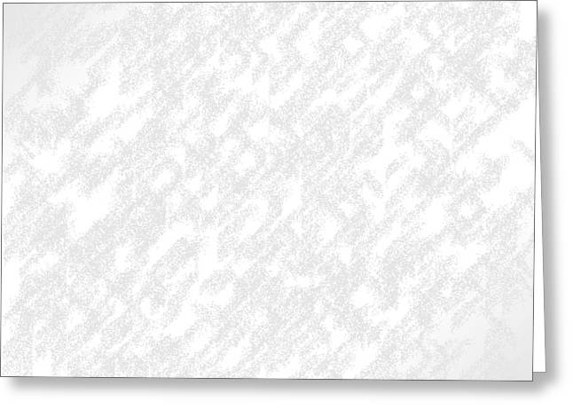 Pare Digital Art Greeting Cards - White.44 Greeting Card by Gareth Lewis