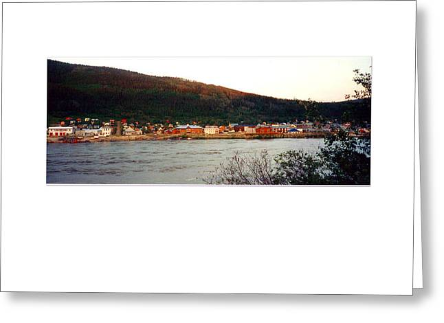 Rush-bed Greeting Cards - Whitehorse Yukon Territory Greeting Card by Tina M Wenger
