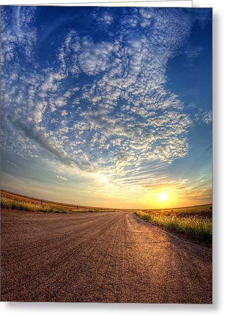 Wide Open Space Greeting Cards - Wide Open Greeting Card by Thomas Zimmerman