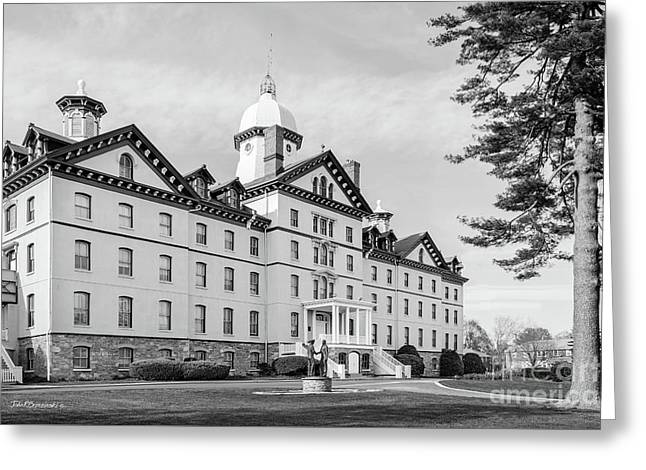 Widener University Old Main Greeting Card by University Icons