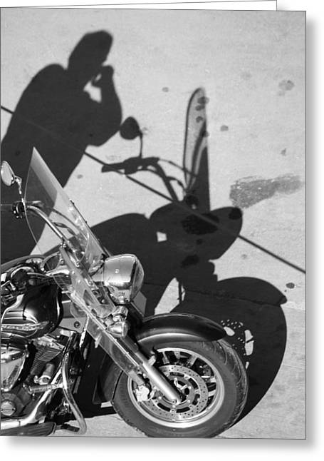Ladies Bike Greeting Cards - Wife called  Greeting Card by Jerry Cordeiro