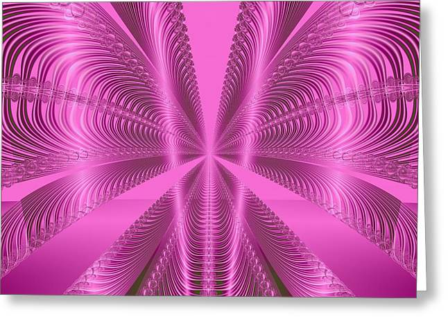 Ocean Art Photos Greeting Cards - Wild About Pink Greeting Card by Regina Rodella