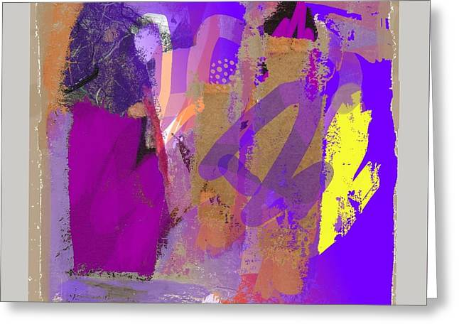 Abstract Handbag Drawing Greeting Cards - Wild and Wicked 8 Greeting Card by Janis Kirstein