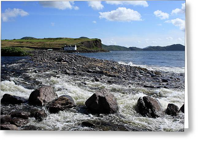 Wild Atlantic Way, Waterville, County Kerry Greeting Card by Aidan Moran