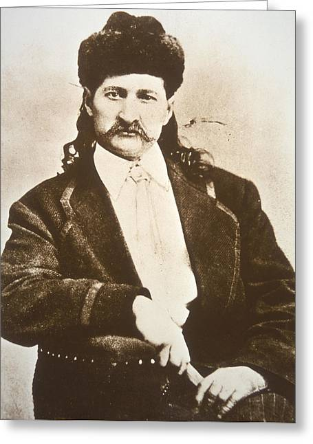 Wild Bill Hickok Greeting Card by American School