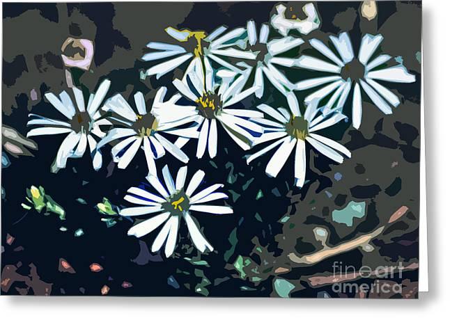 Original Photographs Greeting Cards - Wild Daisy Art  Greeting Card by Juls Adams