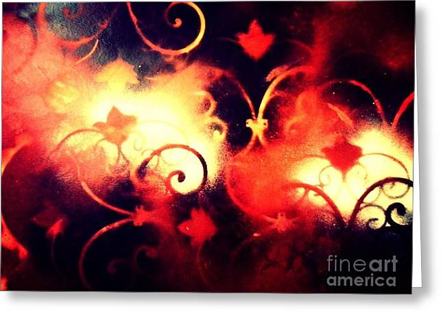 Light And Dark Greeting Cards - Wild Nature Tamed Greeting Card by Sarah  Rachel