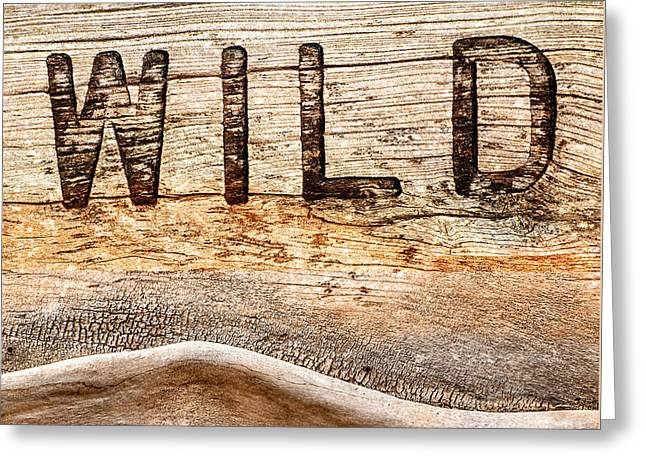 Wild Greeting Card by Jacky Gerritsen
